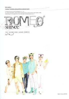 SHINEE [ROMEO] 2nd Mini Album CD+Photo Book+GIFT CARD K-POP SEALED