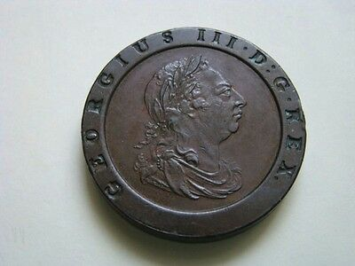 1797 George 111 Copper Cartwheel Twopence