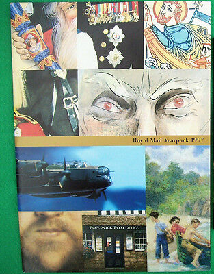 Royal Mail Stamps Yearpack 1997 Pack No. 283 Includes Erratum