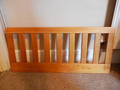 Solid Wood Pine Fixed Bedguard Bed Guard