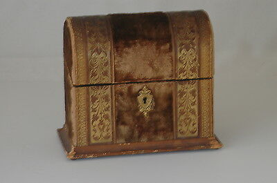 Antique Velvet Box