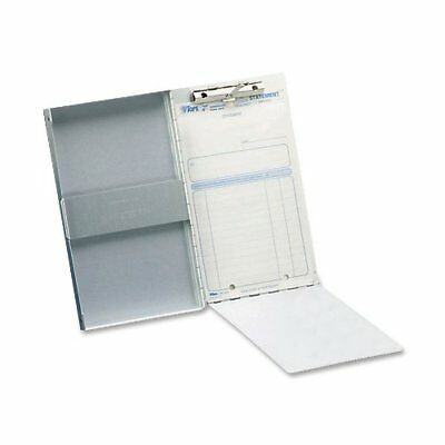 Aluminum Storage Clipboard Letter Office Document Paper Box Organizer Container