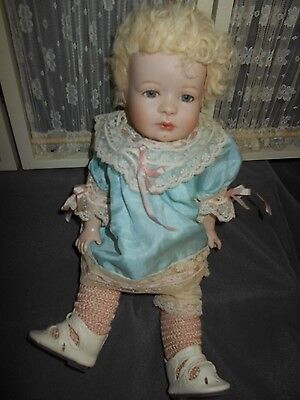 """UFDC Convention 11"""" Doll, Porcelain/Jointed Composition"""