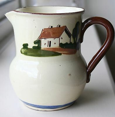Motto Ware  Earthenware Jug made by Dartmouth Pottery