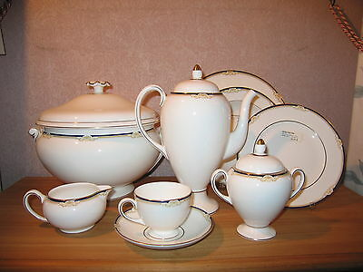 Wedgwood *NEW* Cavendish 5011620 Set Sucrier + Crémier Sugar bowl + Milk jug