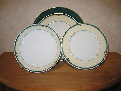 WINTERLING BAVARIA *NEW* CHANTILLY VERT Set 4 assiettes