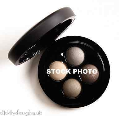 Mac Mineralize Eyeshadow Quad - Full Orbit - Cream Olive Grey Brown New & Boxed