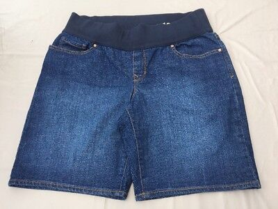 Gap Denim Maternity Shorts Size 16