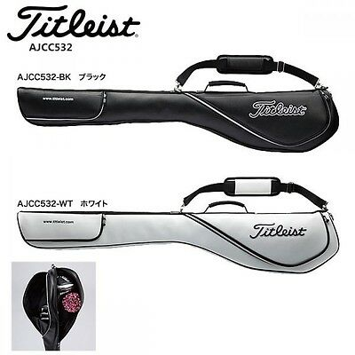 Titleist Japan Golf Carry Caddy Club Case Bag 5-6 Club Separate AJCC532 Black