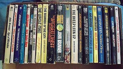 Lot of 21 paperbacks - JOHN BRUNNER (see photos of titles)  science fiction