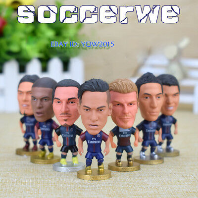 """Soccer PSG Star Player 2.5"""" Action Doll Toy Figure New Season"""