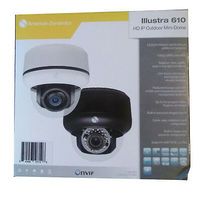 American Dynamics ADCi610-D121 Illustra 610 Outdoor HD IP Camera FREE SHIP
