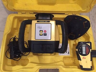 leica Rugby 620 laser level PROFESSIONAL SURVEYING BUILDERS ECT (VGC)