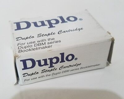 Duplo 999-50050 Staple Cartridge for use with DBM series Bookletmaker