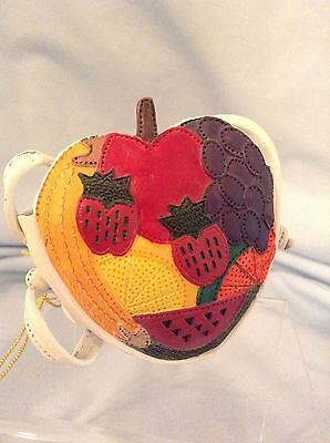 Just the Right Shoe  Fruity Purse 25321 Resin  with box   $7.99