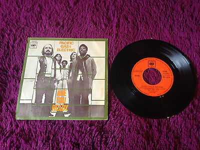 """Pacific Gas & Electric – Are You Ready , Vinyl, 7"""", 45 RPM, Single"""