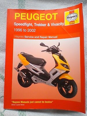Haynes Workshop Manual Peugeot Speedfight Trekker Vivacity 96-02 50 100 3920