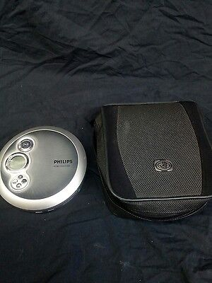 Philips AX2400/02 personal cd player + case + FREEPOST
