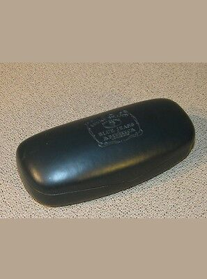 Lucky Brand Green Leather Hard Glasses Sunglasses Case