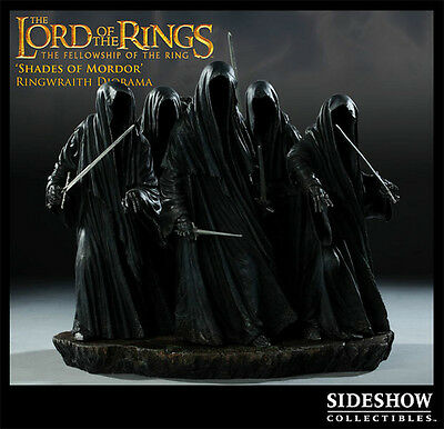 Sideshow Exclusive – Shades Of Mordor – Lotr Ringwraiths Diorama