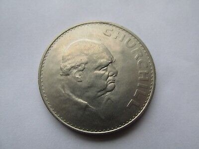 Silver Churchhill Coin 1965
