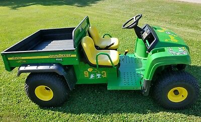 2006 John Deere Gator TS 2WD Utility Vehicle 412 Hours Packers Gravedigger WOW!!