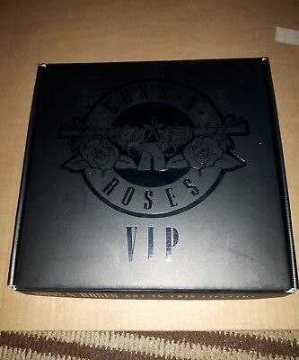 Guns N Roses 2016 Not In This Lifetime Tour VIP Hardcover book