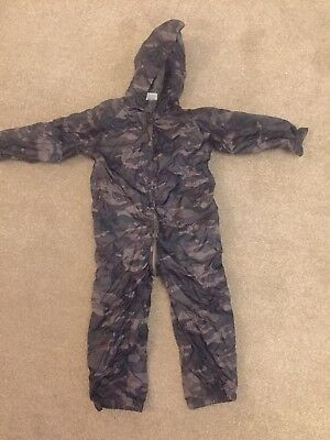 All In One Camouflage Rain Puddle Suit In Size 18-24m BNWT