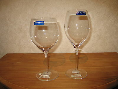VILLEROY & BOCH *NEW* LINOVA UNI Set 2 Verres Glasses