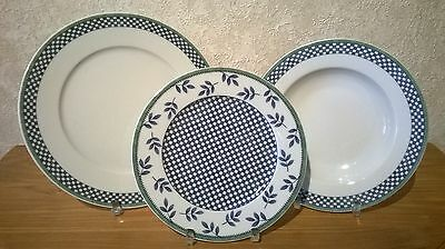 VILLEROY & BOCH *NEW* Switch 3 Castell Set 18 assiettes V&B Plates