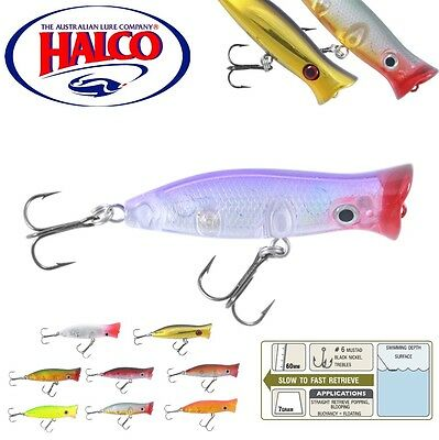 Halco Topwater Lure Roosta Popper 60