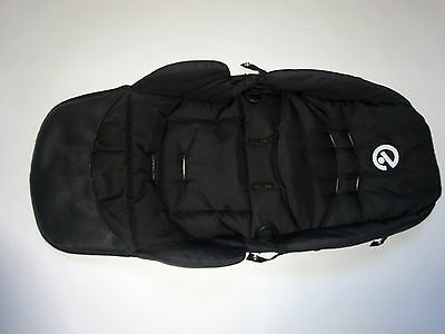 Genuine Babystyle Oyster COVER/ Fabric Black for seat unit VGC