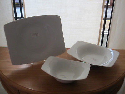 ROSENTHAL *NEW* TATAMI Set 3 assiettes Set 3 plates