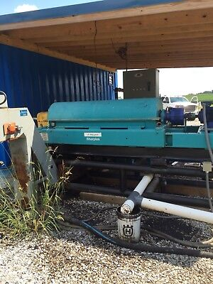 Alfa Laval / sharpels centrifuge and heater combo with plc controls and drivers