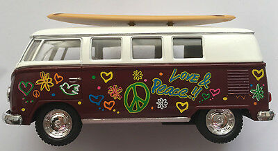 Hawaiian Surf Car 1962 Volkswagen Bus Surfboard Woody Surfing North Shore NIB