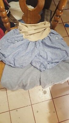 2 pair of motherhood maternity shorts XL and large worn twice