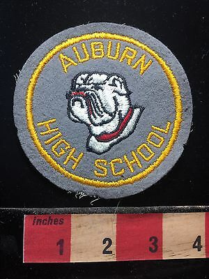 Quite Vintage State Patch ~ NEBRASKA Auburn High School Bulldogs 71C2