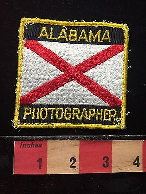Alabama PHOTOGRAPHER Patch ~ Vintage ~ 68EE