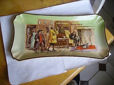 Vintage  Royal Doulton series ware server/sandwich dish from the 1930s on.