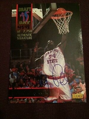 Anthony Pelle Autographed Signed 1995 Signature Rookies Card # 46