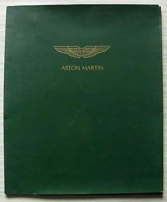 ASTON MARTIN DB7 & WORKS PREPARED VANTAGE Car Press Media Pack Oct 1998 Photos