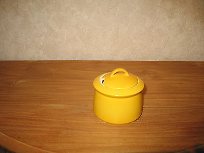 ESCHENBACH *NEW* JAUNE Sucrier 25cl H.5cm Sugar bowl yellow