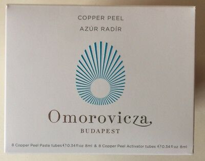Omorovicza Copper Peel 16 x 8ml Skincare Refine Firming Smooth Line Wrinkle New