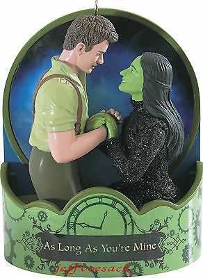 """Wicked """"As long as your Mine"""" Broadway Musical  2014 Carlton Ornament *SALE*"""