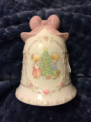 Precious Moments Christmas Bell with Poem 1997