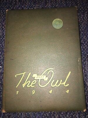 1944 University Of Pittsburgh Yearbook Annual Owl    -Ref. 6-330