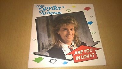 "SPYDER SYMPSON - Are You In Love ? - IRISH POP 7"" IRELAND"