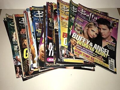 Buffy The Vampire Slayer Collection Of Magazines