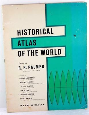 1965 Rand McNally Historical Atlas of the World Ed by R. R. Palmer Softcover