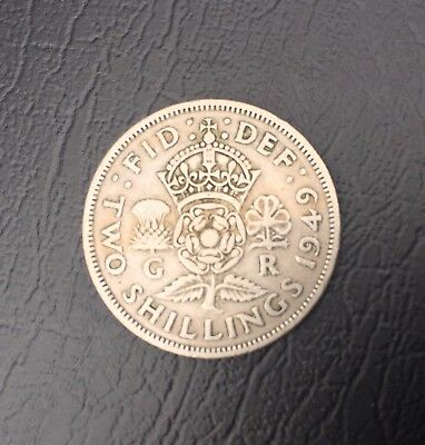 Great Britain, Coin, 1949, Two Shilling, Circulated, Collectable
